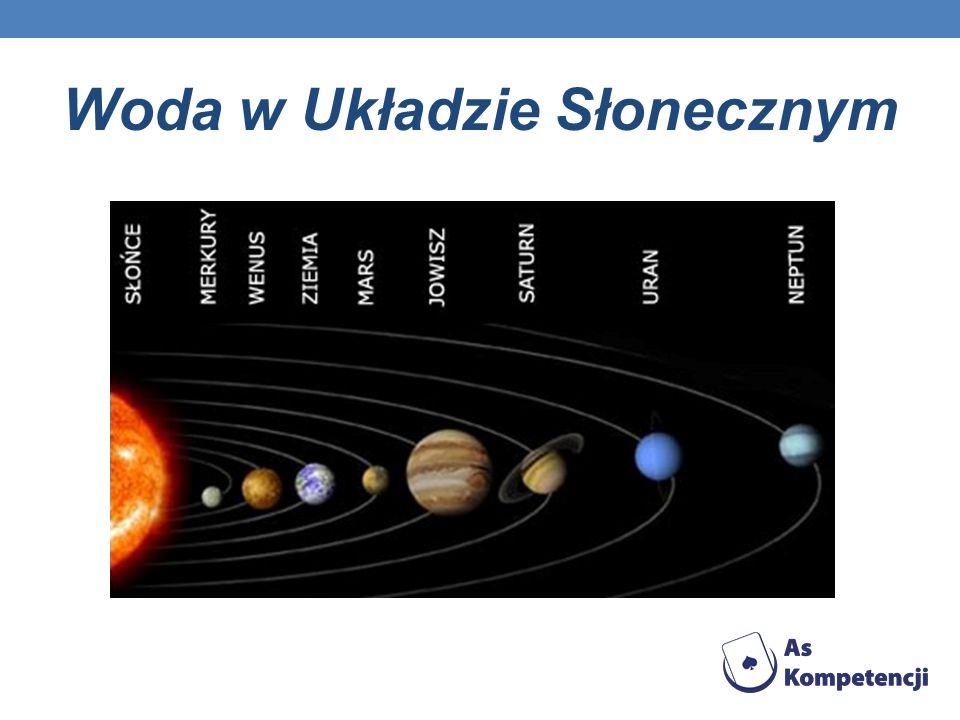 Woda w Układzie Słonecznym