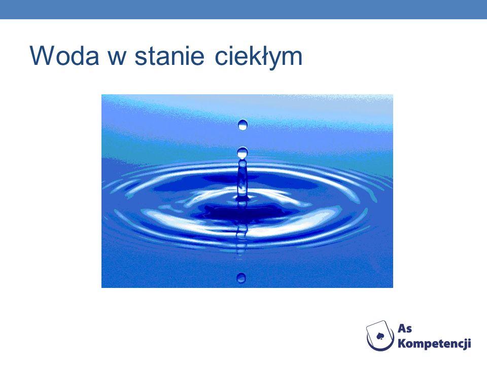 Woda w stanie ciekłym