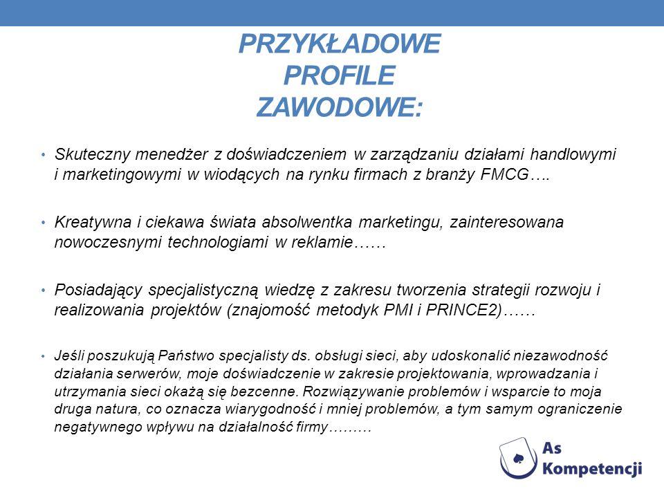 STRONY INTERNETOWE POMOCNE W ZNALEZIENIU PRACY www.praca.pl www.pracuj.pl www.gazetapraca.pl www.praca.owi.pl www.dobra-praca.org www.praca.gratka.pl www.wakaty.com.pl