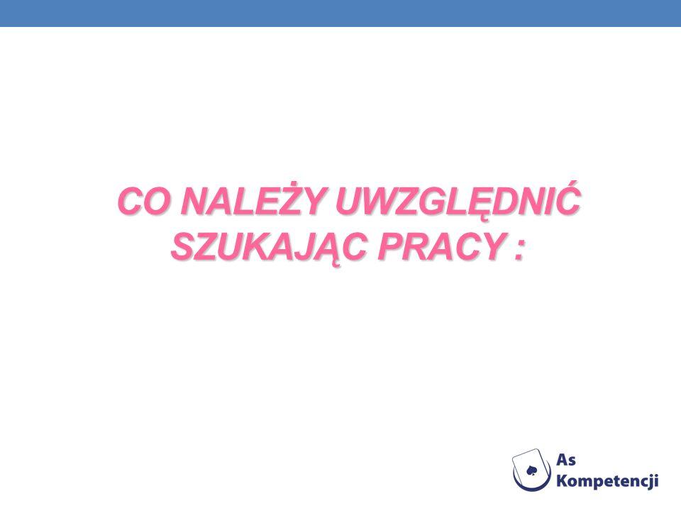 WYKSZTAŁCENIE 2004-2009 Studia Magisterskie na Uniwersytecie Warszawskim Kierunek Ekonomia 2000-2004 Liceum Ekonomiczne im.