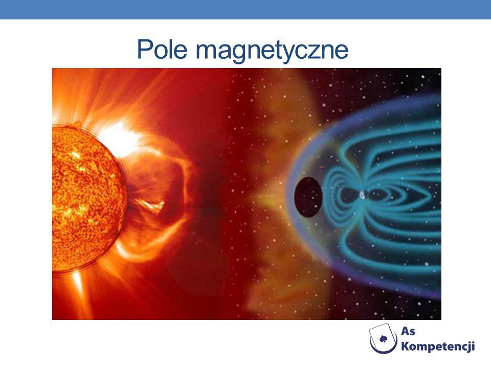 Pole magnetyczne stan przestrzeni, w której siły działają na poruszające się ładunki elektryczne a także na ciała mające moment magnetyczny niezależnie od ich ruchu.