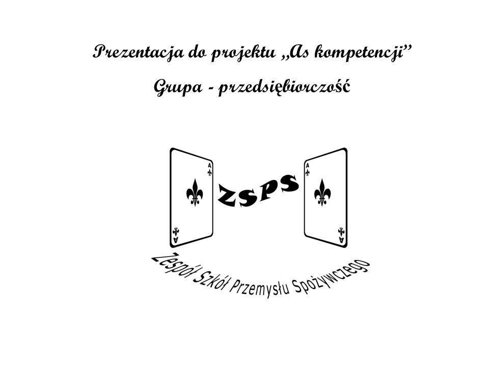 Prezentacja do projektu As kompetencji Grupa - przedsi ę biorczo ść