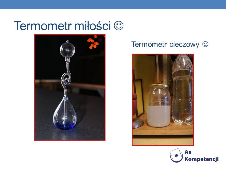 Termometr miłości Termometr cieczowy