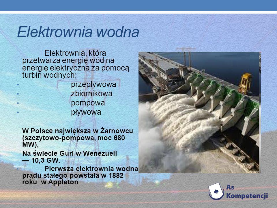 W niektórych krajach budowane są elektrownie wiatrowe składające się z wielu ustawionych blisko siebie turbin – tzw. farmy wiatrowe. Na polskim wybrze