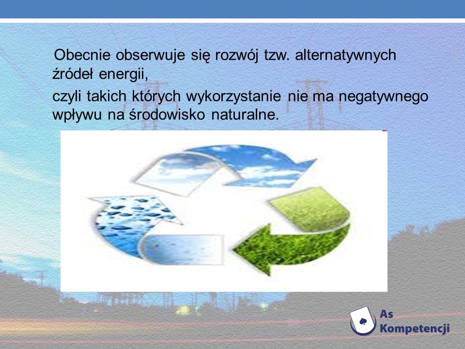 Z czasem człowiek, próbował pozyskiwać energię wykorzystując wiatraki i młyny wodne. Wraz z rozwojem przemysłu i ciągle rosnącym popytem na energię, z