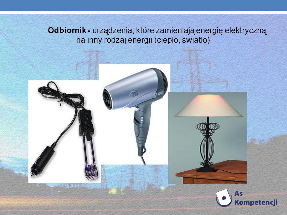 Urządzenia elektryczne Są to urządzenia niskiego napięcia o mocach znamionowych rzędu do kilku kilowatów, wchodzące w skład instalacji elektrycznych w