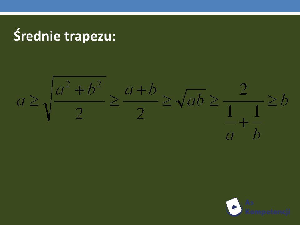 Średnie trapezu: