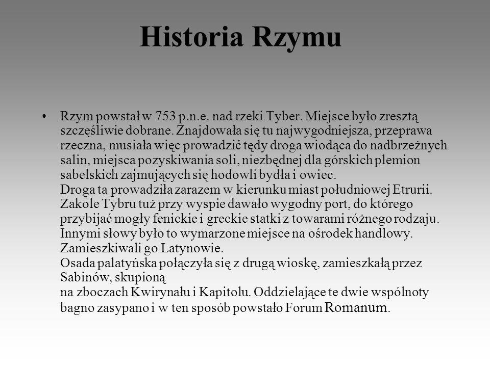 Społeczeństwo rzymskie dzieliło się na dwie grupy.