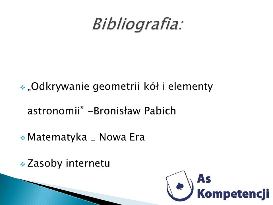 Odkrywanie geometrii kół i elementy astronomii -Bronisław Pabich Matematyka _ Nowa Era Zasoby internetu