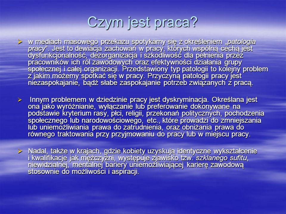 Bezrobocie Główne problemy na polskim rynku pracy
