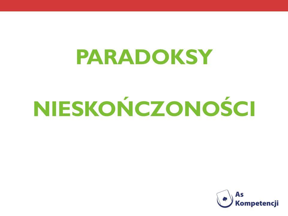 Plan prezentacji 1.Cele projektu 2. Nieskończoność, wieczność i paradoks 3.
