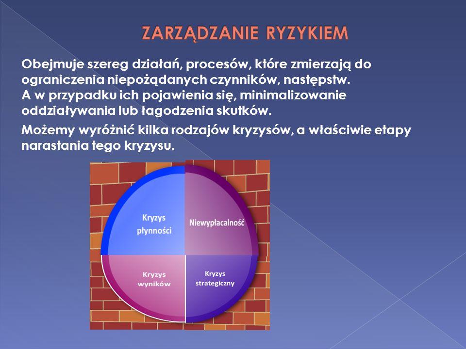 Obejmuje szereg działań, procesów, które zmierzają do ograniczenia niepożądanych czynników, następstw. A w przypadku ich pojawienia się, minimalizowan
