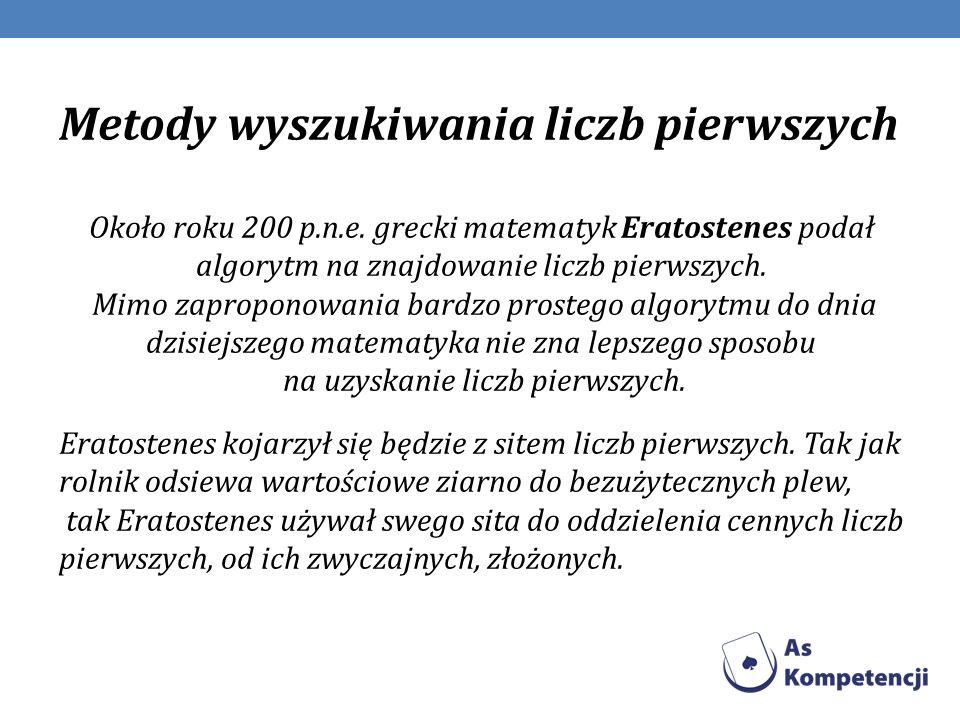 (Eratostenes z Cyreny) urodził się w 276 roku p.n.e, zmarł w 194 p.n.e.