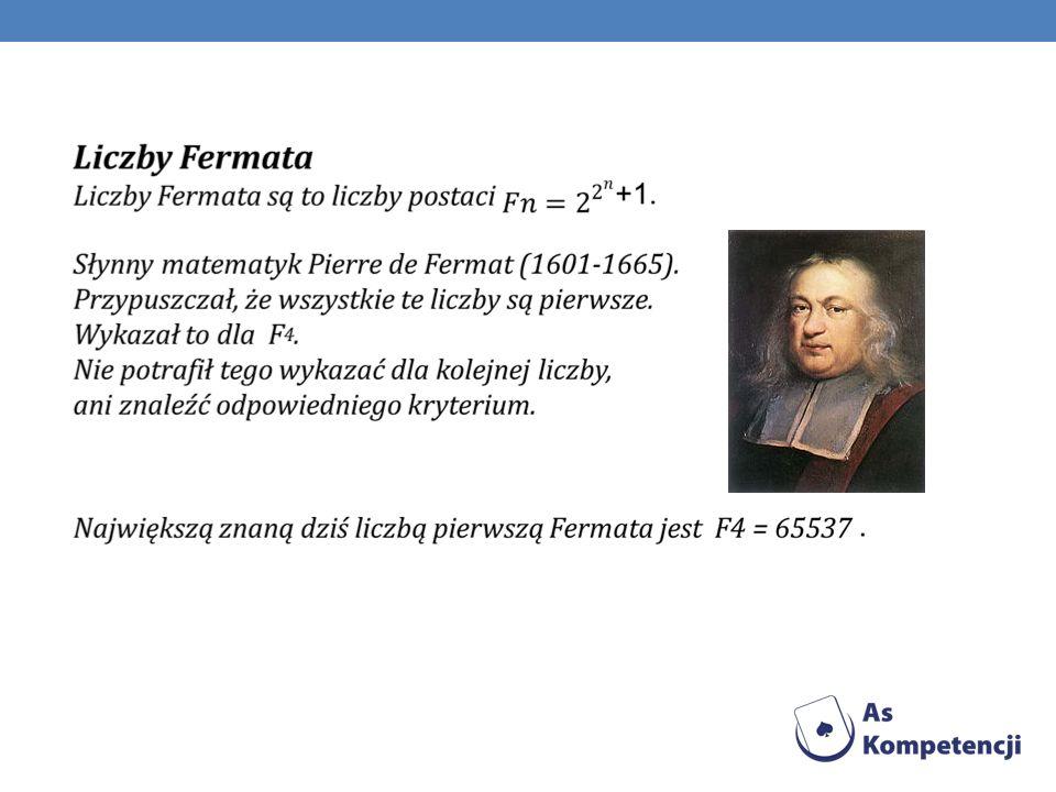 W XVII wieku francuski mnich Marin Mersenne rozpatrywał możliwość istnienia liczb pierwszych postaci 2 n - 1.