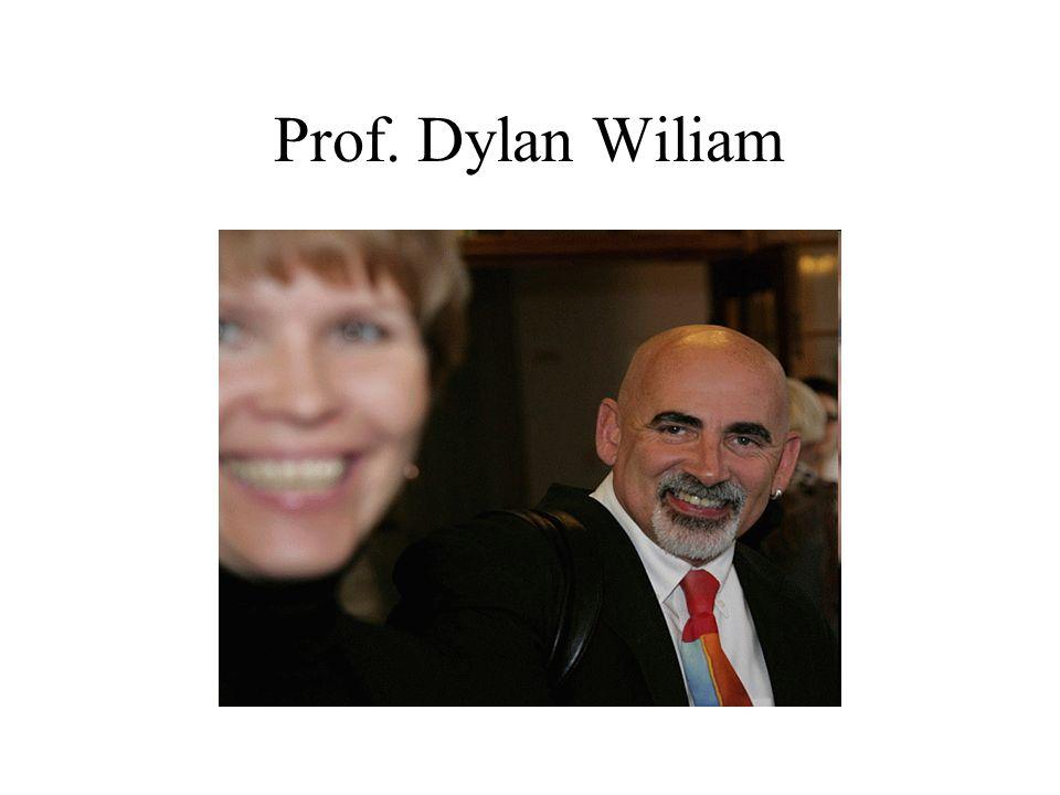 Prof. Dylan Wiliam