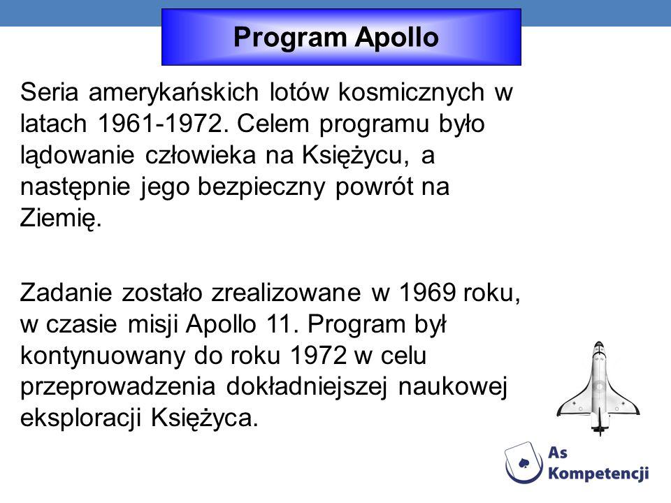 Seria amerykańskich lotów kosmicznych w latach 1961-1972.