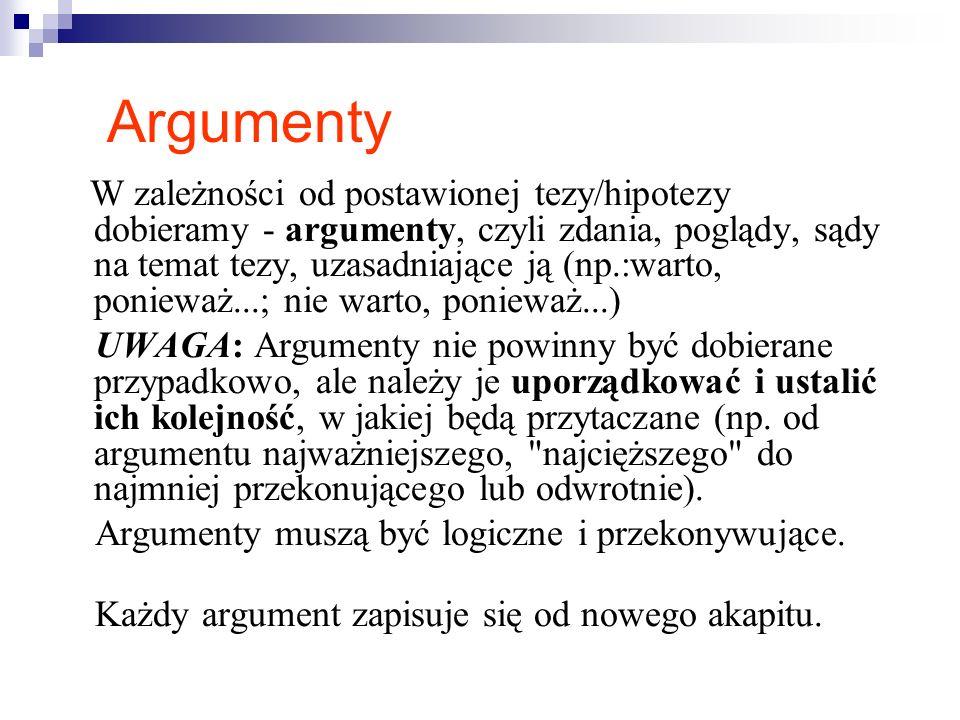 a) Jaka teza, została zawarta we wstępie powyższej rozprawki.