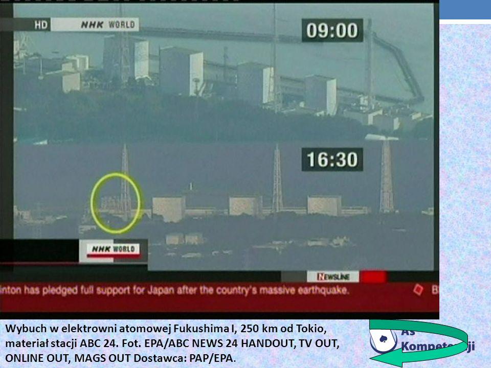 Widok na elektrownię atomową Fukushima Daiichi w Japonii. Fot. EPA/The Tokyo Electric Power Dostawca: PAP/EPA.