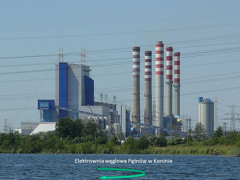 1.Chłodnia kominowa 2.Pompa wody chłodzącej 3.Sieć przesyłowa 4.Transformator blokowy 5.Generator 6.Część niskoprężna turbiny 7.Pompa wody zasilającej