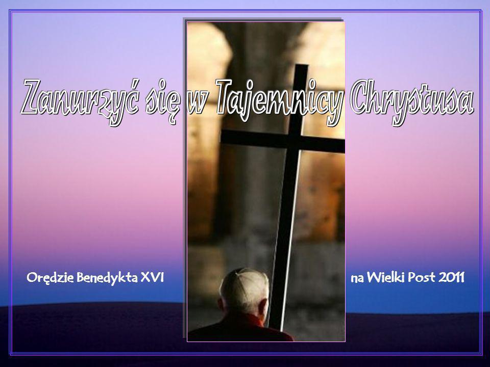 Okres wielkopostny jest dogodnym momentem, aby na nowo uznać naszą słabość, przyjąć, ze szczerą rewizją życia, odnawiającą Łaskę Sakramentu Pokuty i podążać w zdecydowany sposób w stronę Chrystusa.