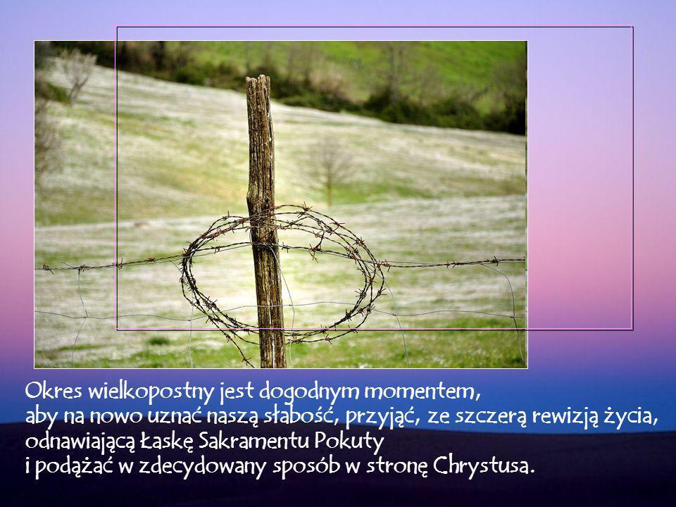 Wielkopostna droga, na której jesteśmy zaproszeni do kontemplowania Tajemnicy Krzyża, polega na upodobnieniu się do śmierci Chrystusa, aby przeżyć głębokie nawrócenie naszego życia