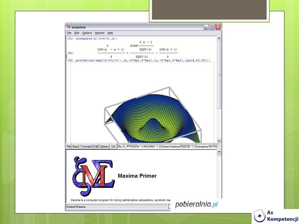 Microsoft Mathematics 4.0.1108 Microsoft Mathematics to zaawansowane narzędzie, wspomagające naukę matematyki stworzone głównie z myślą o uczniach szkół średnich i studentach.