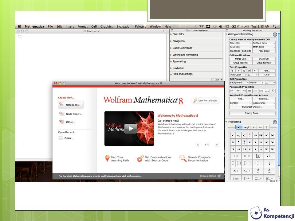 Strony pomocnicze: http://www.instalki.pl/programy/Download/ Windows/matematyka.html http://pobierz.pl/programy/windows/eduka cja-i-nauka/matematyka-i-.fizyka/page:3 http://www.komputerswiat.pl/download/38/ kategoria,matematyka.aspx