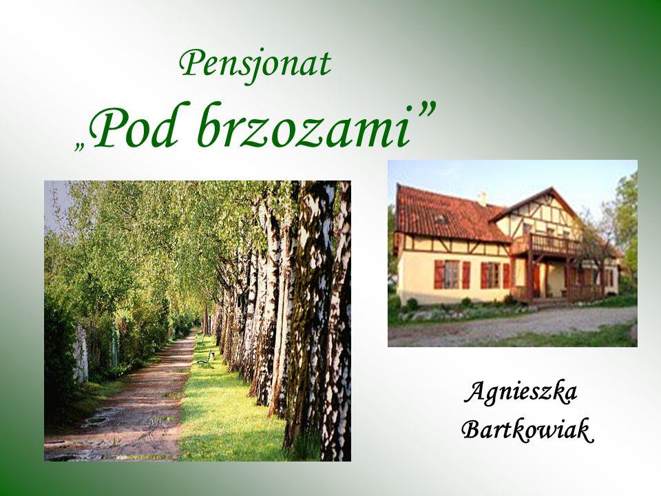 Pensjonat Pod brzozami Agnieszka Bartkowiak