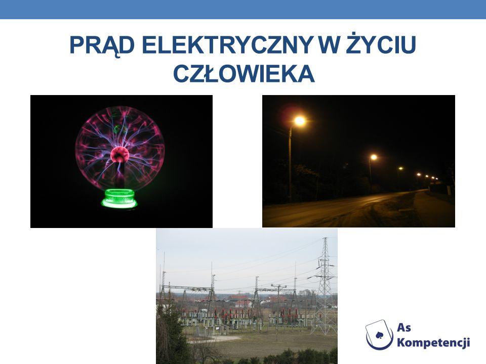 WPŁYW PRĄDU ELEKTRYCZNEGO NA ŻYCIE CZŁOWIEKA Intensywność działania prądu elektrycznego zależy od jego natężenia (natężenie zaś zależy od napięcia w obwodzie elektrycznym i oporu skóry) i częstotliwości (prąd zmienny jest niebezpieczniejszy od prądu stałego).
