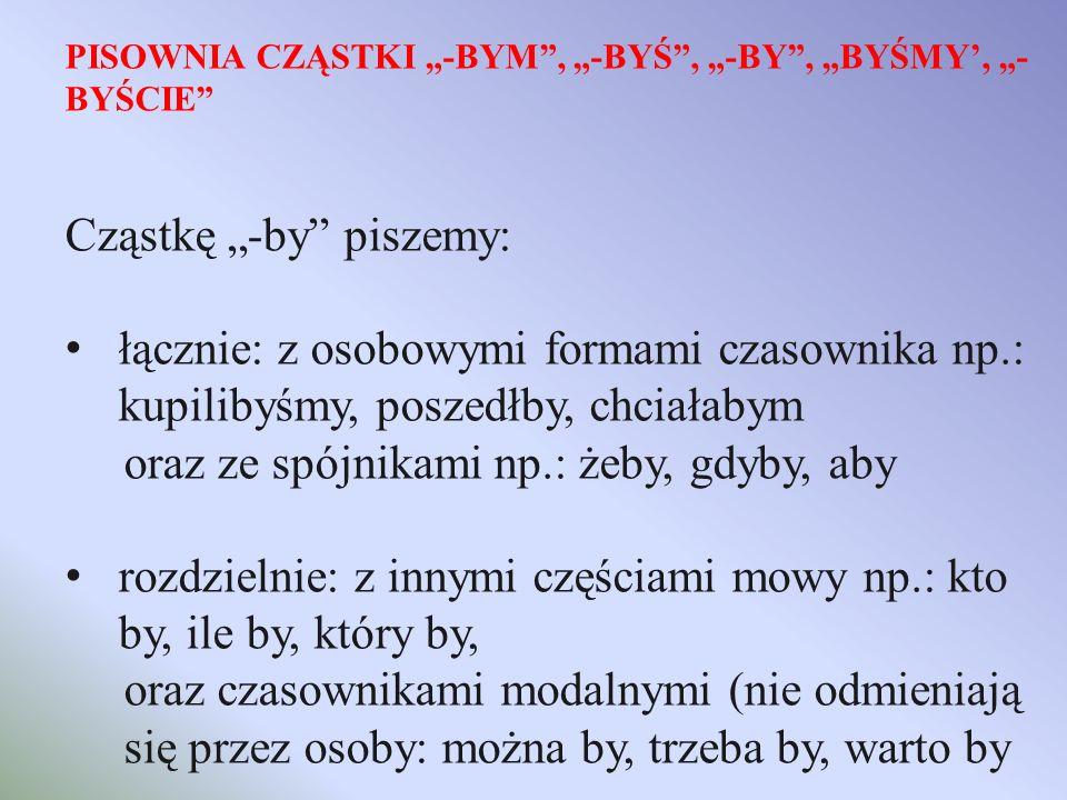 H: PISOWNIA WYRAZÓW Z H: 1) H piszemy, gdy w wyrazach pokrewnych wymienia się na: