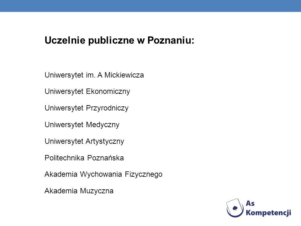 Uczelnie publiczne w Poznaniu: Uniwersytet im.