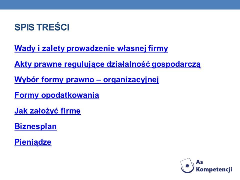 ZALETY I WADY SPÓŁKI Z O.O.Zalety spółki z o.