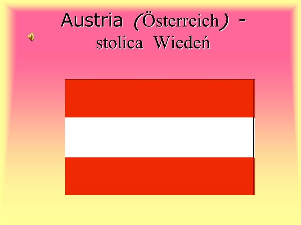 Austria ( Österreich ) - stolica Wiedeń