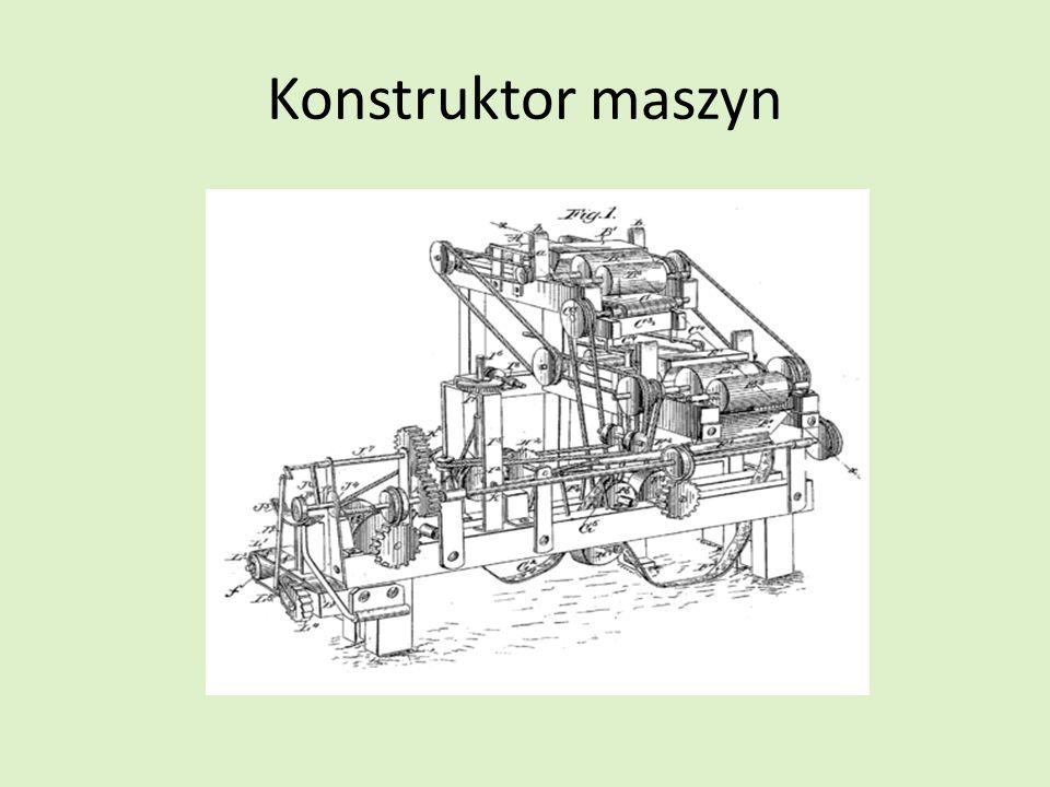 Konstruktor maszyn