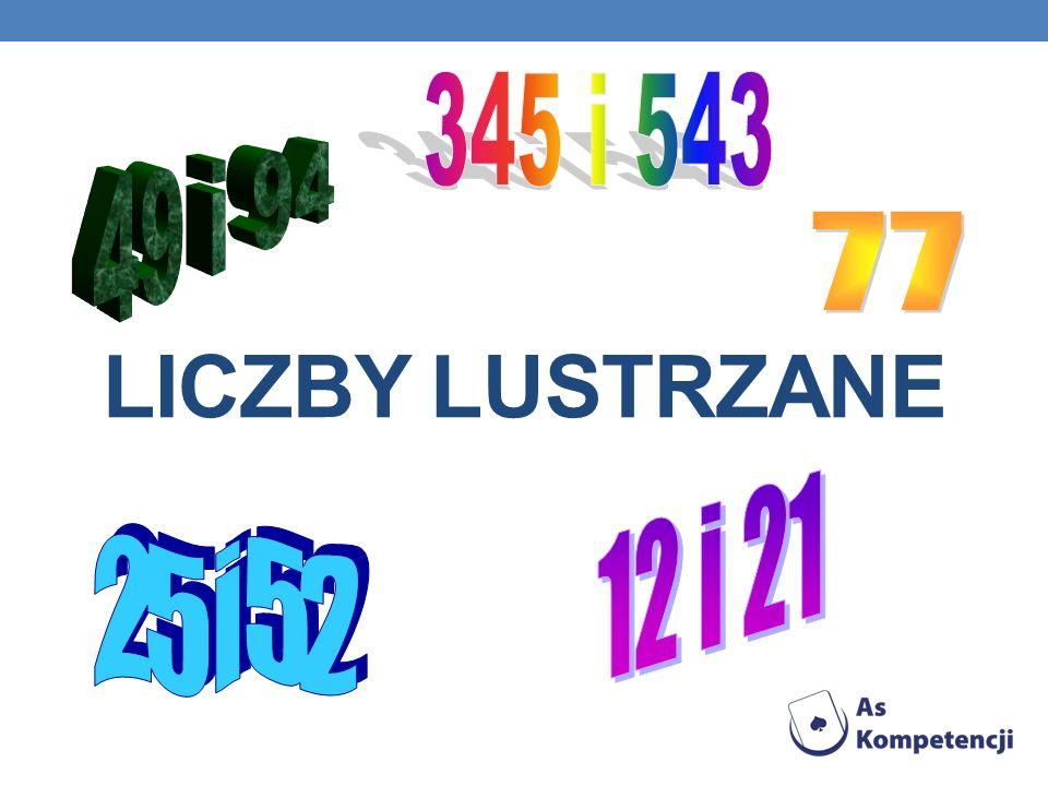 LICZBY LUSTRZANE