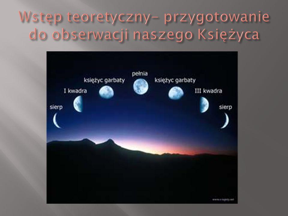 Mówimy że Księżyc jest w pełni (faza: pełnia).