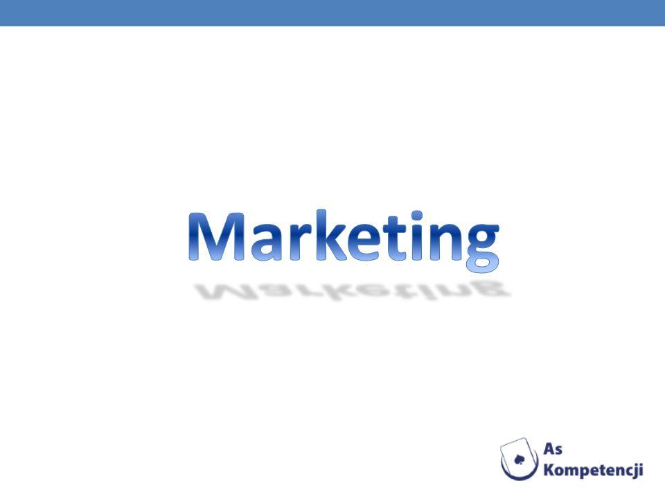 Marketing Marketing posiada wiele definicji naukowych.