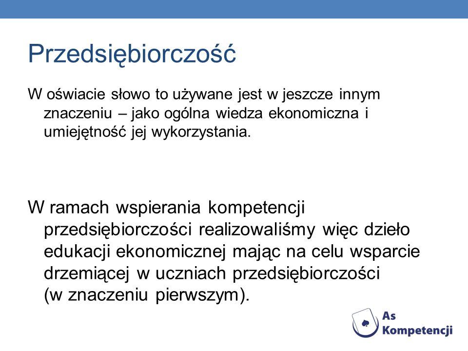 Wykłady w ramach projektu Projekt zakładał kontakt młodzieży z kadrą naukowo- dydaktyczną uczelni wyższych (w przypadku przedsiębiorczości – z Uniwersytetu Szczecińskiego).