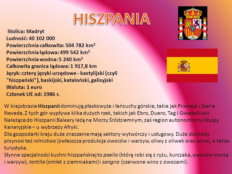 Stolica: Bratysława Ludność: 5 380 000 Powierzchnia całkowita: 49 036 km 2 Powierzchnia lądowa: 48 989 km 2 Powierzchnia wodna: 45 km 2 Całkowita długość granicy lądowej: 1 355 km Waluta: 1 korona (Sk) Członek UE od: 2004 r.