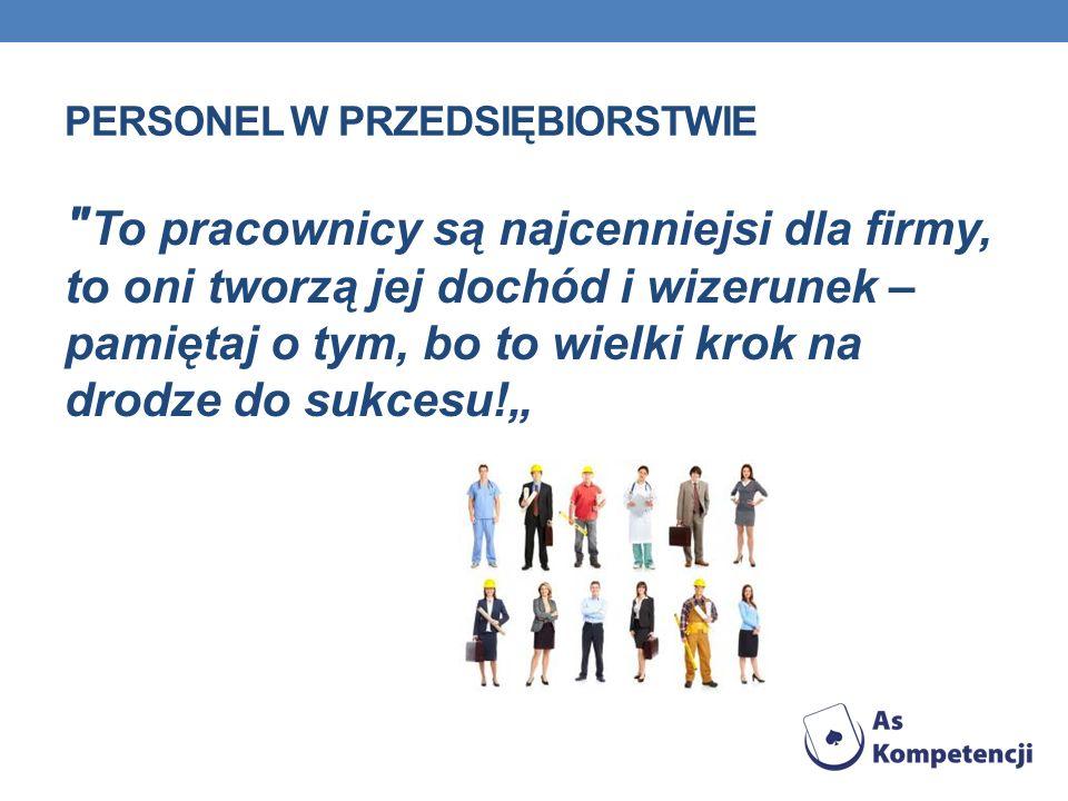 PERSONEL W PRZEDSIĘBIORSTWIE ANALIZA POTRZEB KADROWYCH - POJĘCIE Analiza zasobów kadrowych w organizacji jest procesem polegającym na grupowaniu personelu w różne grupy pod względem wcześniej wyznaczonych, z reguły współzależnych, kryteriów.