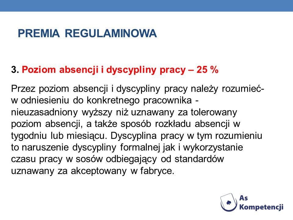 PREMIA REGULAMINOWA 1.
