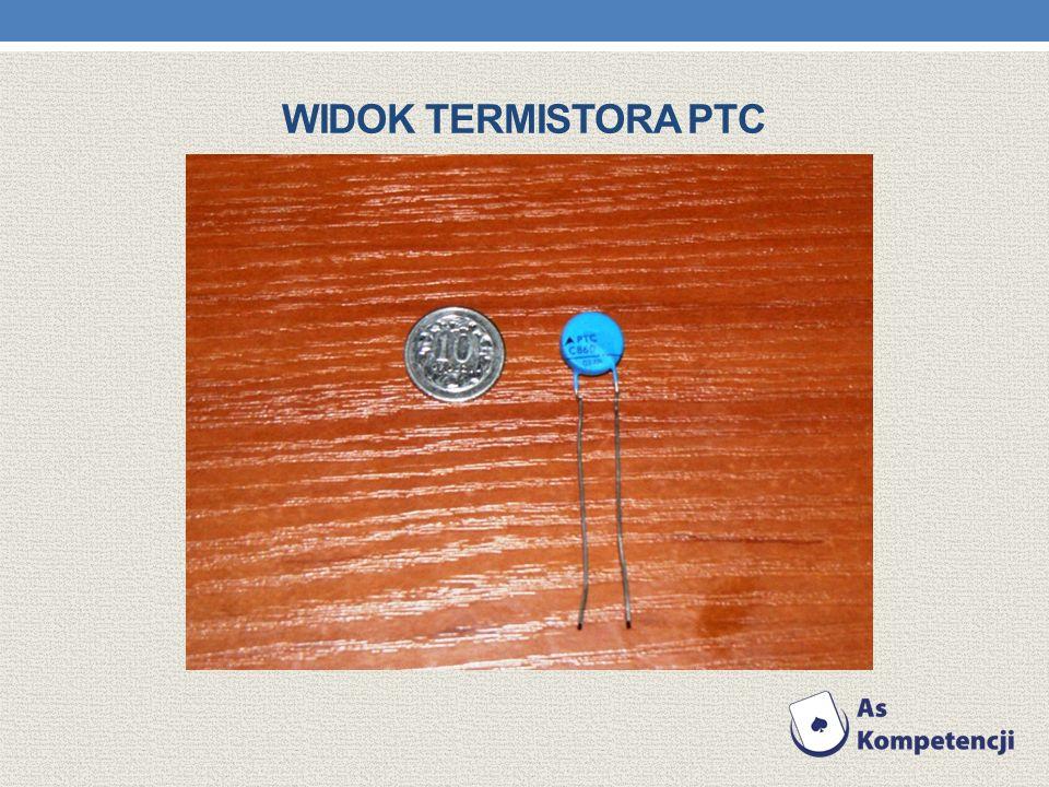 WIDOK TERMISTORA PTC