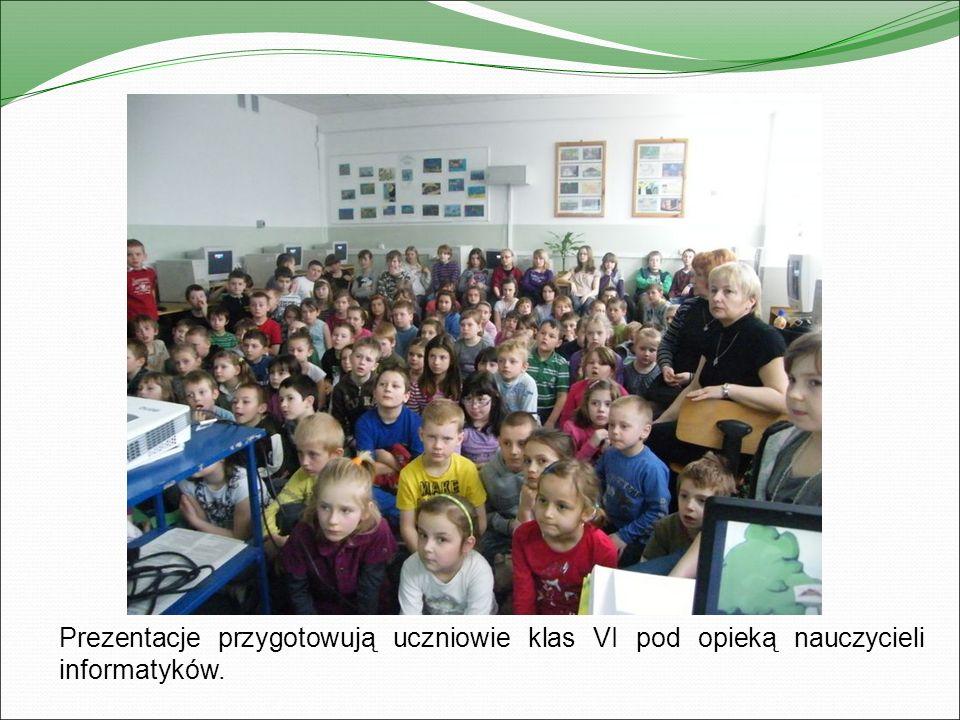 Pokaz multimedialny dla uczniów klas I – V.