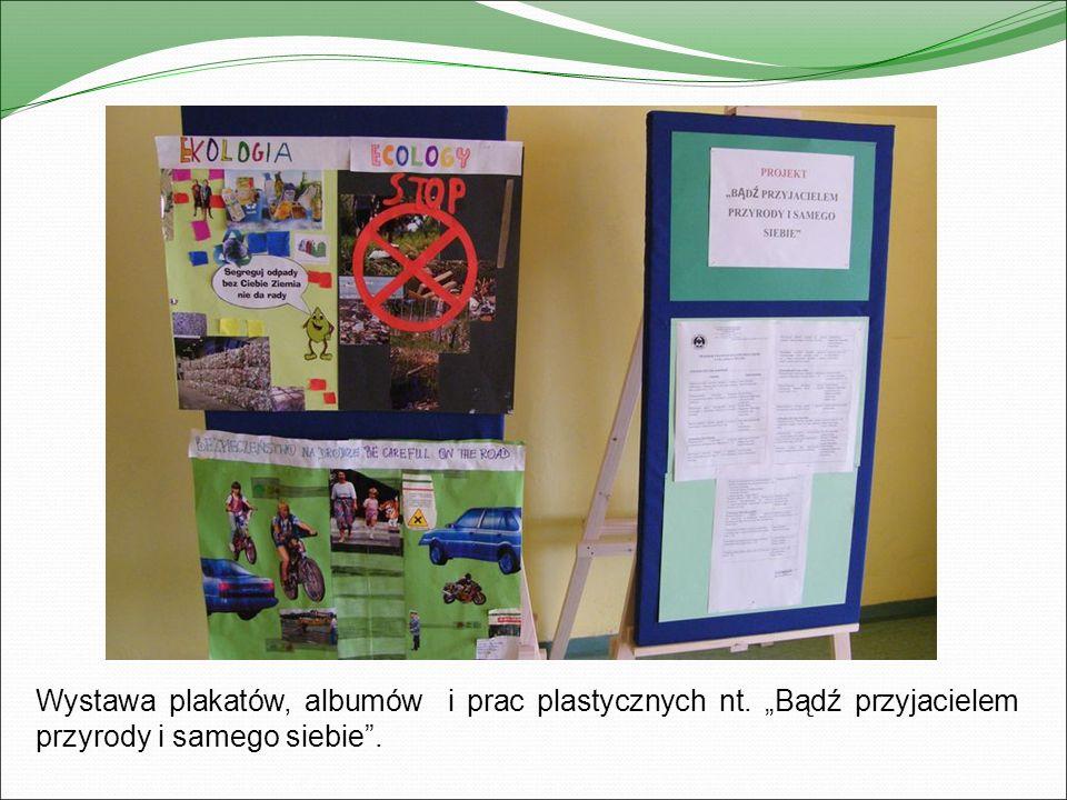 Program artystyczny o tematyce zdrowotnej przygotowany przez uczniów klas I – III.