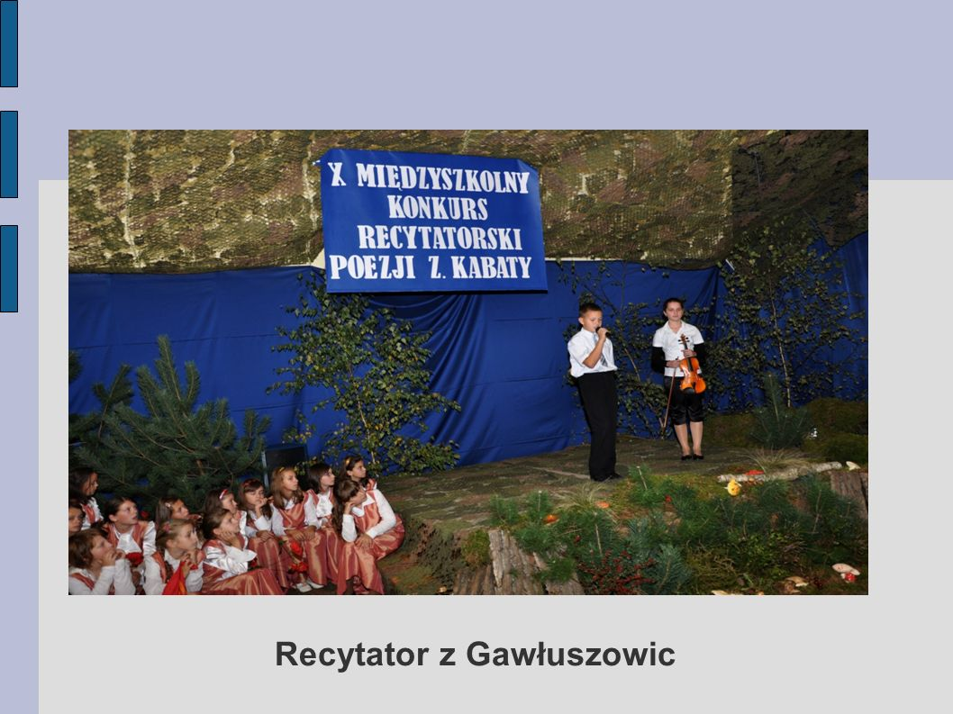 Recytator z Gawłuszowic