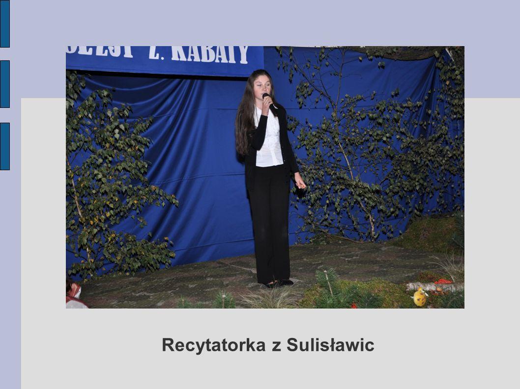 Recytatorka z Sulisławic