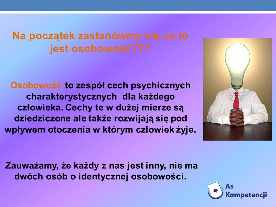 ZADANIE NR 1 – WYNIKI BADANIA Wśród badanych uczniów gimnazjum przeważał typ osobowości zawodowej – społeczny i artystyczny.