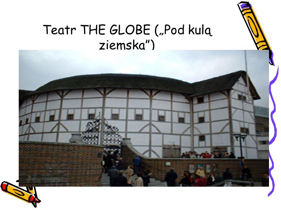 Teatr THE GLOBE (Pod kulą ziemską)