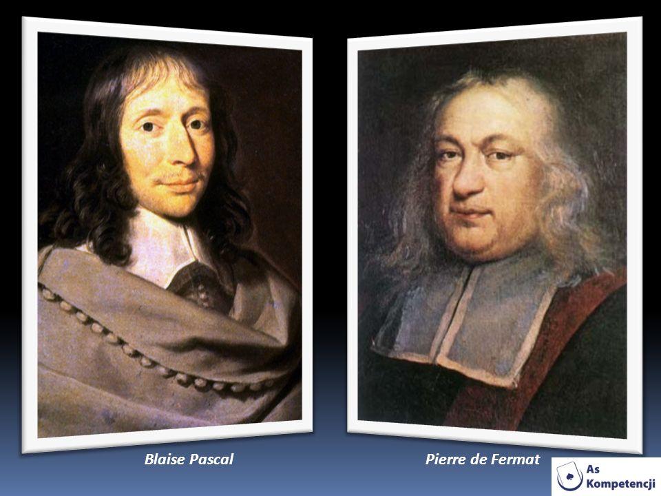 Pierre de FermatBlaise Pascal
