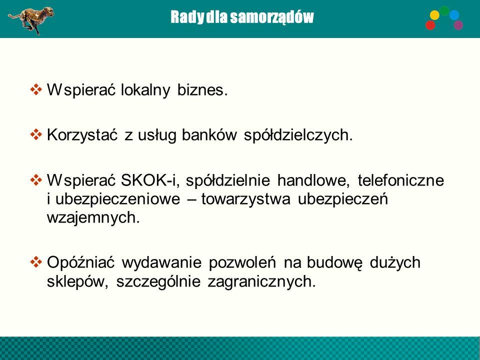 Rady dla obywateli Trzeba zbudować w Polsce demokrację w zachodnim stylu, bo to najlepszy ustrój polityczny.
